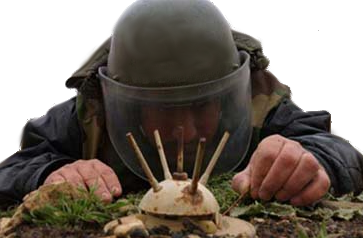 Landmine Diffused