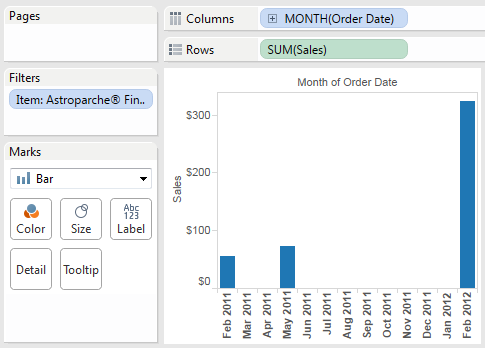 Tableau Tip Tuesday: Show What Isn't in the Data | VizPainter
