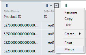 Using Tableau 9.3 to Merge Fields in Union