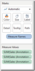 Add Copies to Measure Values Shelf