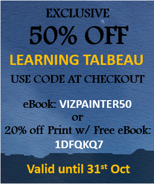 Learning Tableau Discount