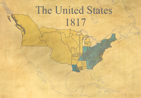 The United States in 1817